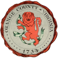 Orange County Virginia Seal